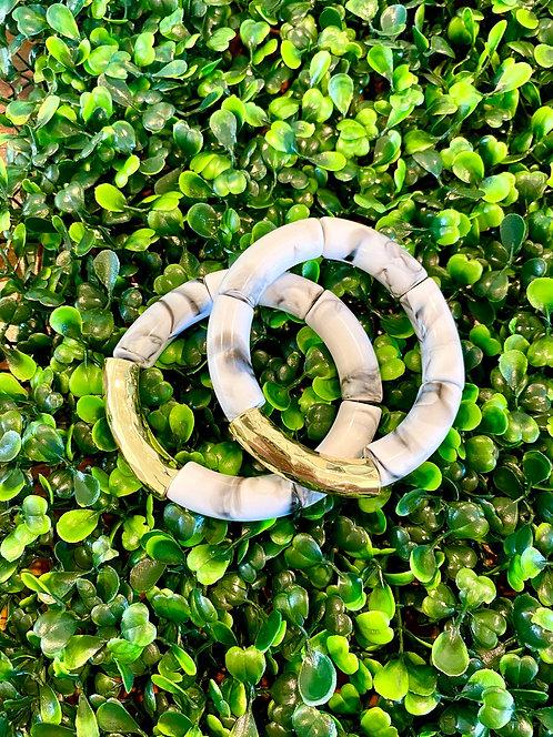 Acrylic Tube Bracelet