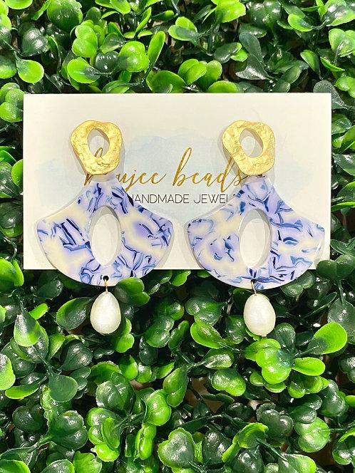 Ginger Blue Earrings