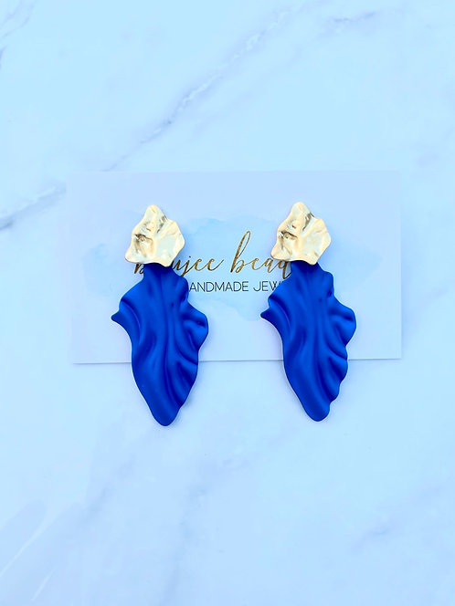 Cobalt Wave Earrings