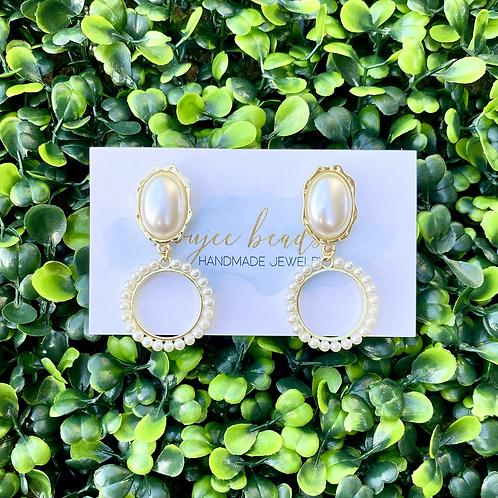 Margot Pearl Earrings