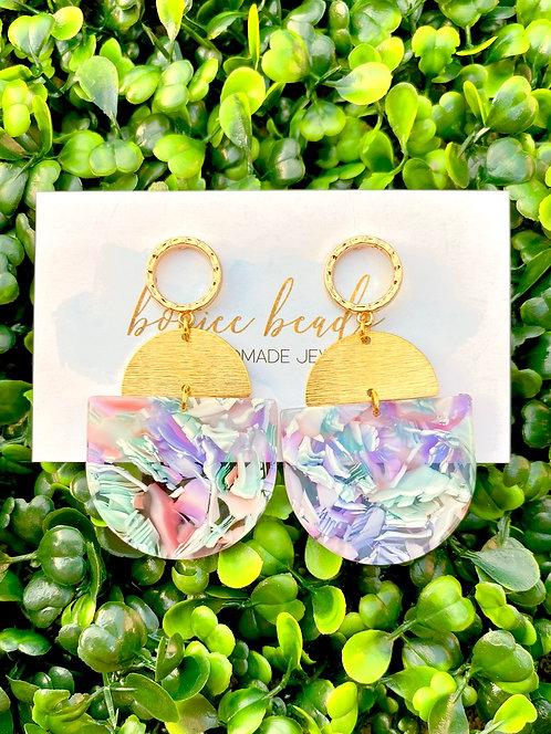 Lavender Mix Earrings