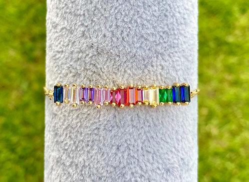 Rainbow Adjustable Bracelet