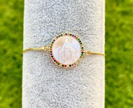 Rainbow Mary Bracelet
