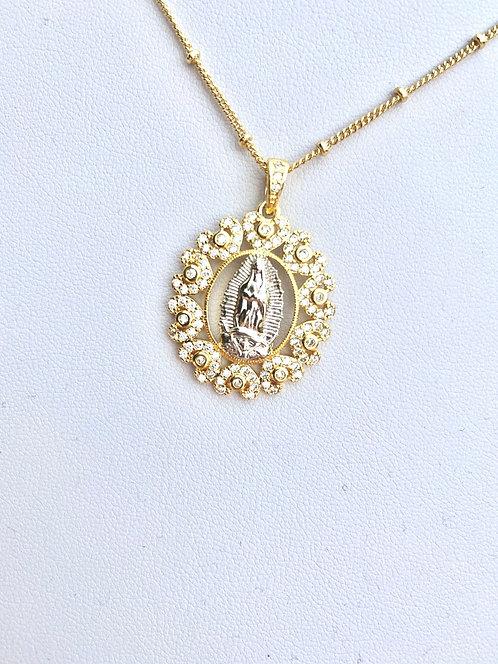 Gorgeous Mary Pendant Necklace