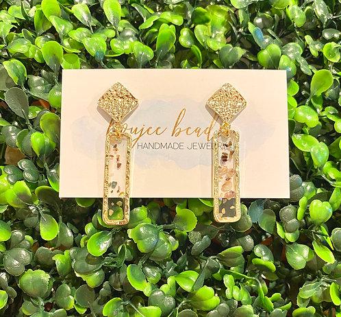 Mini Mosaic Earrings