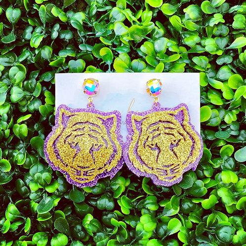 Tiger Fans Only Earrings