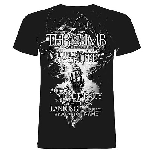 """T-Shirt """"ILLUSION OF YOUR LIFE"""""""