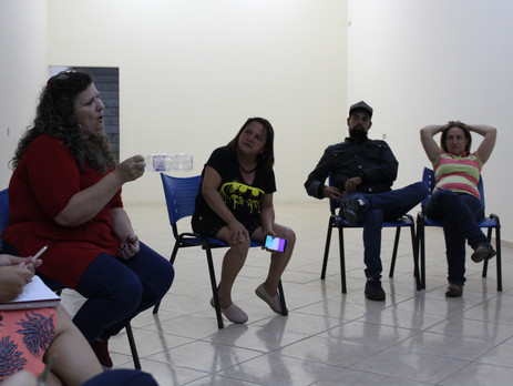 Sindicato realiza reunião com servidores de Cesário Lange