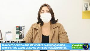 SINDICATO SOLICITA QUE NOS INFORMEM OS CASOS DE COVID