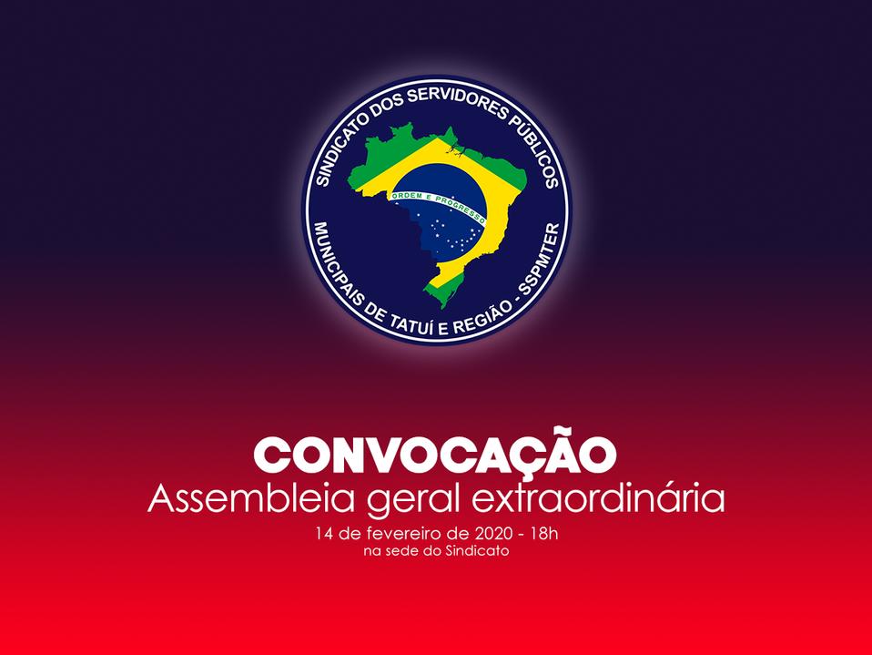 CONVOCAÇÃO PARA ASSEMBLEIA GERAL EXTRAORDINÁRIA