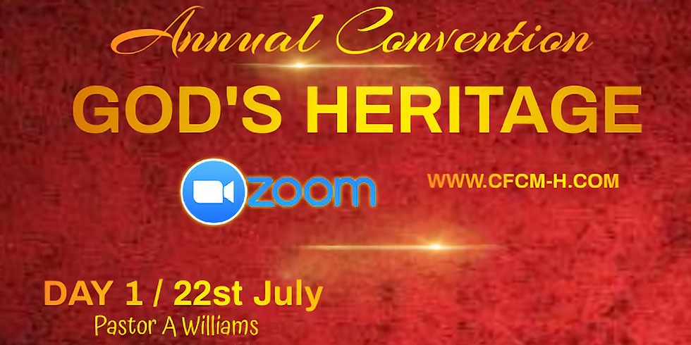 Annual Convention - God's Heritage