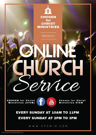 Online church service - Made wit