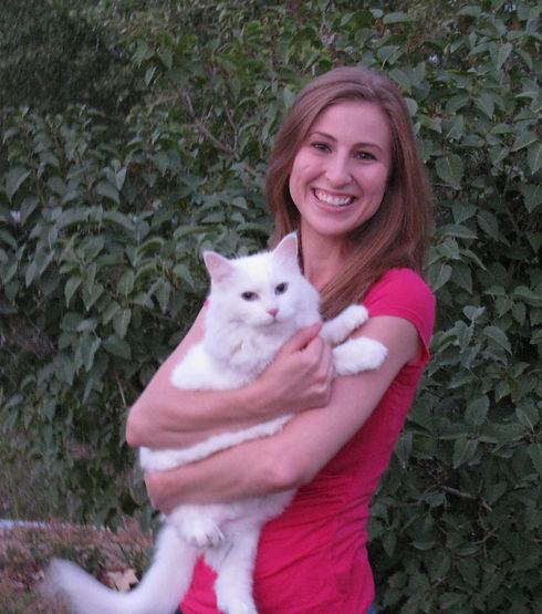 Dr. Heather Toyne, DVM with Babydoll