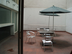 terraza en cocina