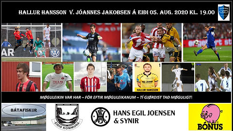 Jóannes Jakobsen Við Hallur Hansson