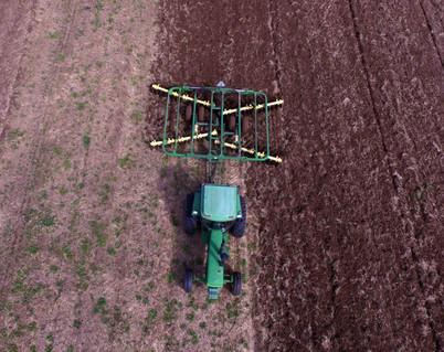 Farmer Disking