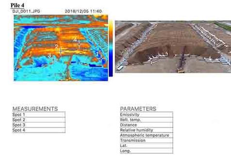 Thermal Imaging Piles