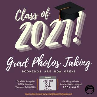 Green Typographic Graduation Party Invit