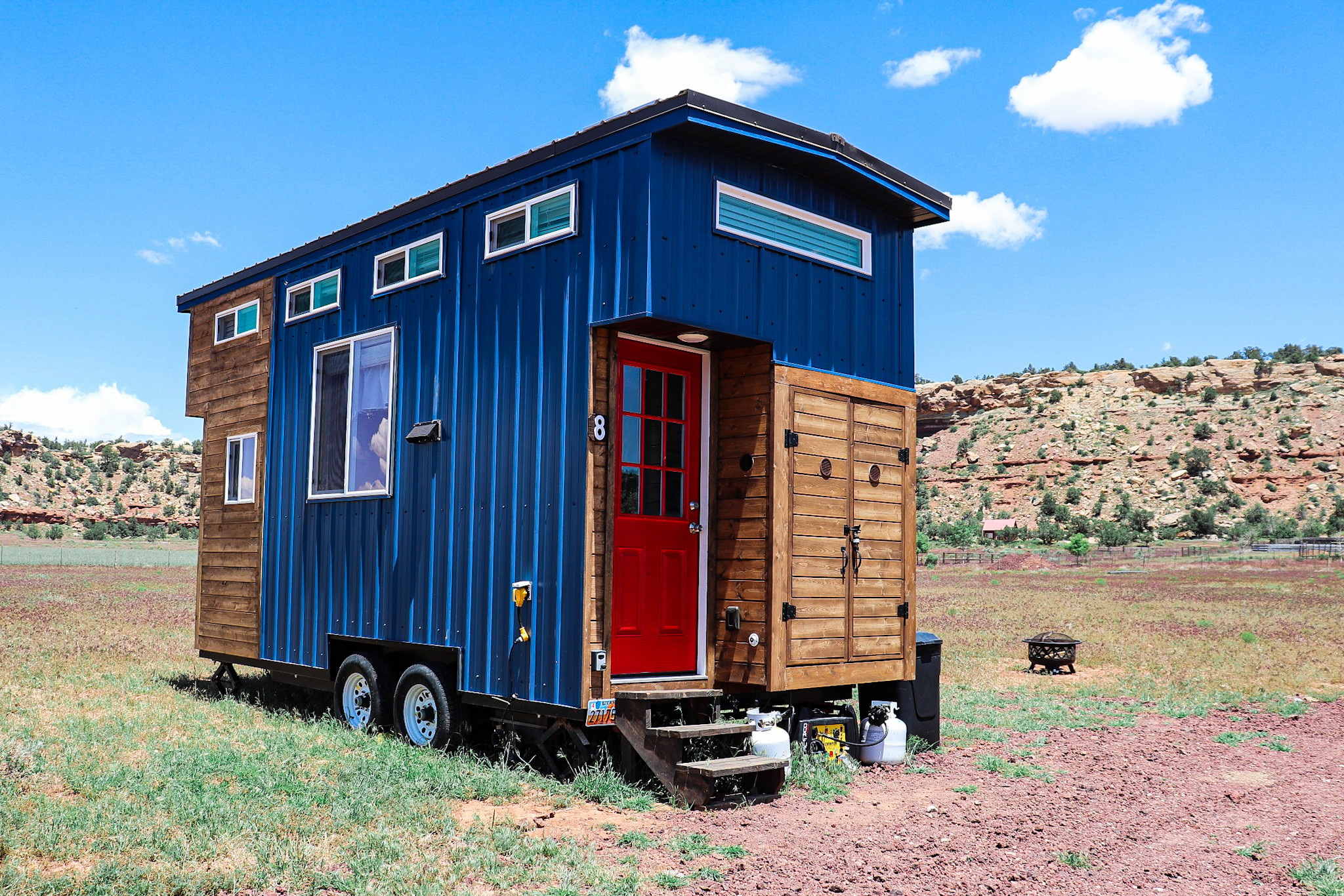 Nature experience in a Tiny Home