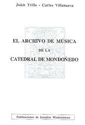 Mondoñedo. Catedral. Diócesis de Mondoñedo-Ferrol. Archivos. M´suica. M´suica sacra