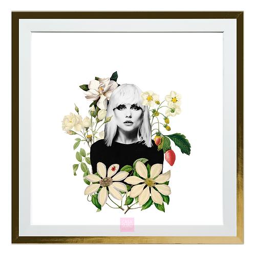 Collage digital  Blondie, 30x30