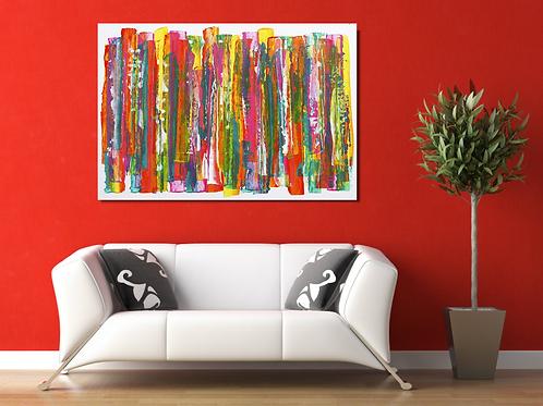 Abstracción Espontánea, 100x150