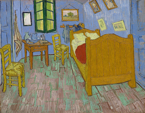 El dormitorio, Vincent Van Gogh