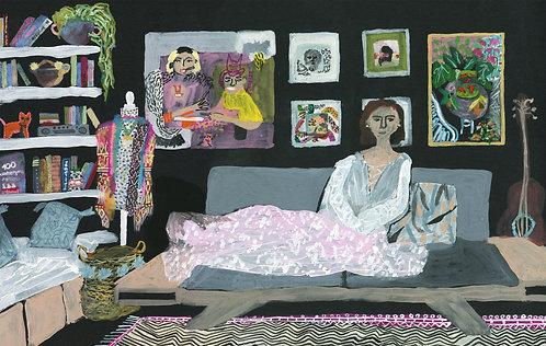 Living: The dream, 38x60