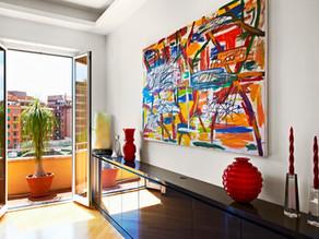 Cómo integrar obras de arte en nuestra decoración