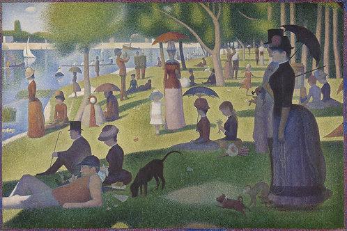 Un domingo en La Grande Jatte - 1884, Georges Seurat