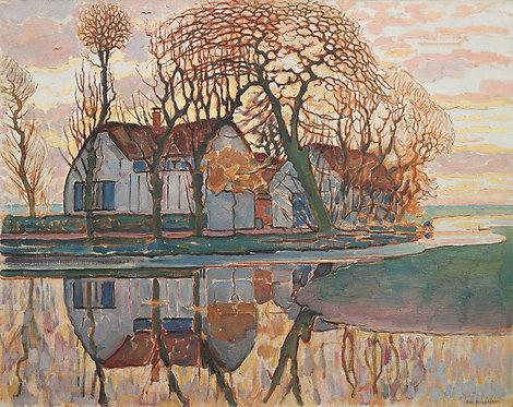 Copia de Casas en Murnau, Piet Mondrian