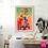 Thumbnail: Caparazón florido, 40x60
