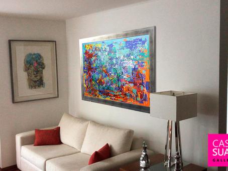 Cómo elegir un cuadro para mi pared?