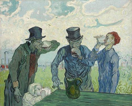 Los Bebedores, Vincent van Gogh