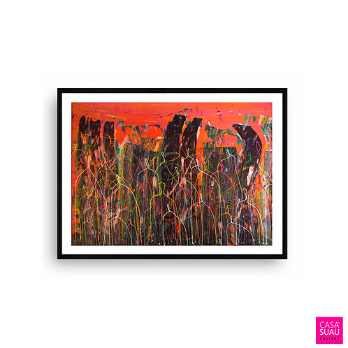La Fonda, 60x80 Print Art Giclée