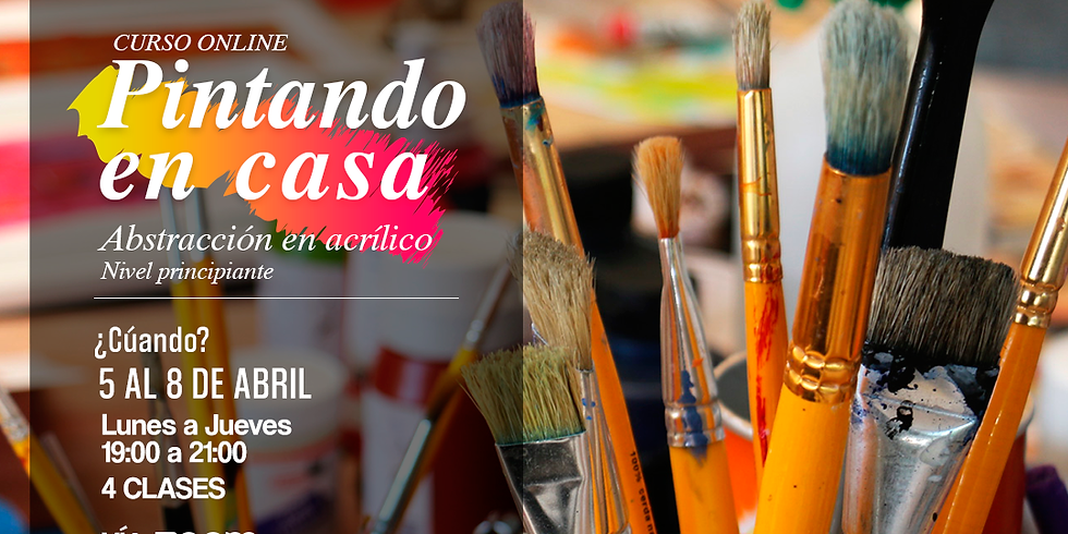 Curso Online - Pintando en Casa (5 Abril)