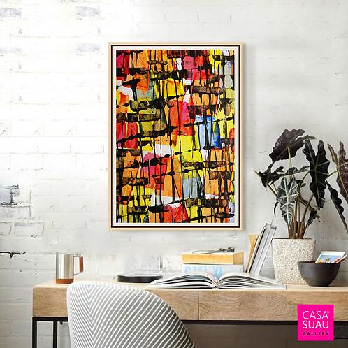 Abstracción I, 60x80 Print Art Giclée