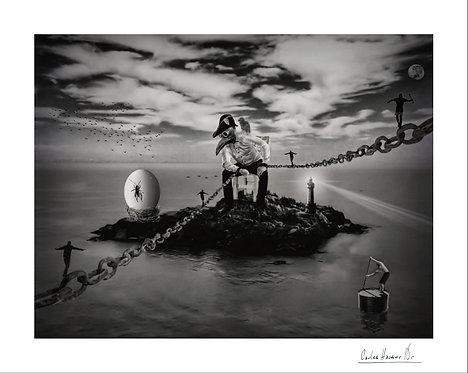 El guardián del último huevo de Dodo, 48x61 / 61x78