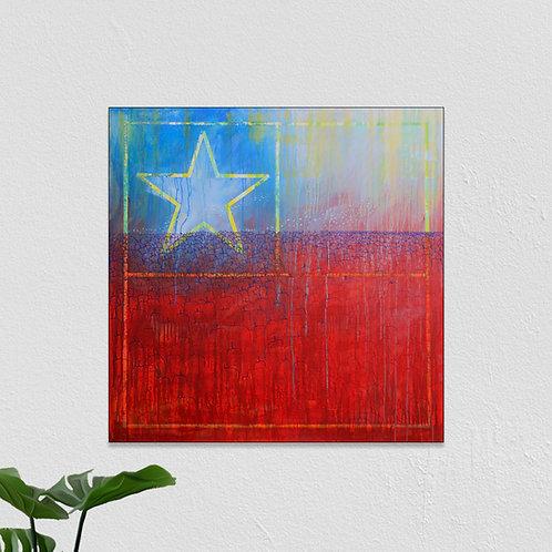Chile Unido, 100x100