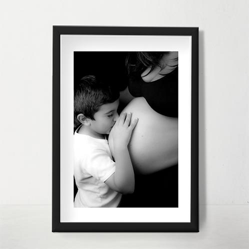 Marco + Parpastú + Impreso Fine Art 40x60