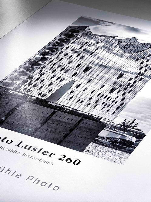 Impresión Hahnemühle Photo Luster 260g, metro lineal, rollo 61 cms.