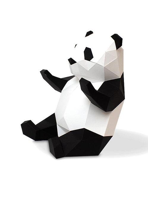 Panda DIY en papier AGENT PAPER