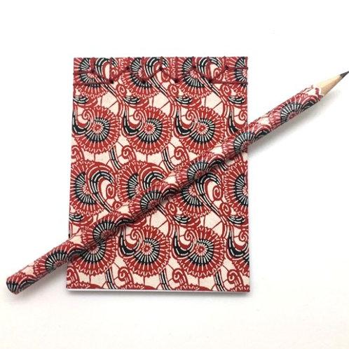Carnet et son crayon de bois PAPIERS MALICE