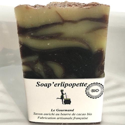 """Savon """"Le gourmand"""" SOAP'ERLIPOPETTE"""
