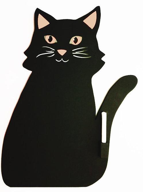 Ardoise chat de La Sittelle de Bois