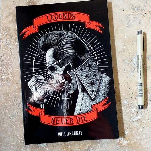 "Livre d'illustrations ""Legends never die"" WILL ARGUNAS"