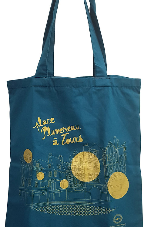 "Tote-bag ""Place Plum'"" FAISONS UN TOUR(S)"