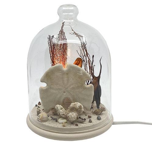 "Globe ""Cabinet de curiosités"" lumineux COC'ART CREATIONS"