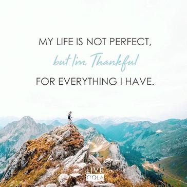 I'm Thankful.