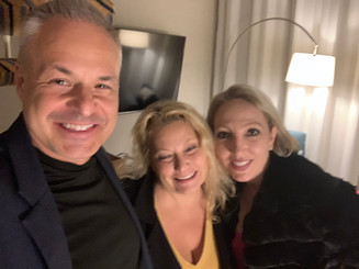 Clint Arthur, Ali Savitch, and Princess Maryanne Parker